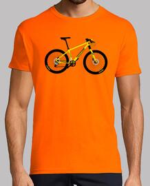 efedefunko © giallo cannondale - uomo, manica corta, arancio, qualità extra