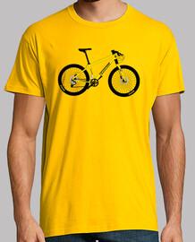 efedefunko © giallo cannondale - uomo, manica corta, giallo senape, qualità extra