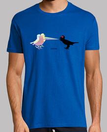 efedefunko © Laser Vs Loser - Hombre, manga corta, amarillo limón, calidad extra