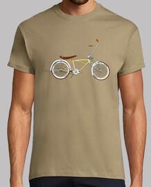 efedefunko © low rider custom crème - homme, manches courtes, kaki, qualité extra