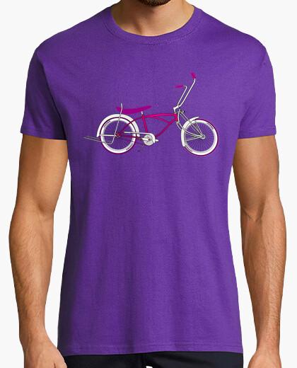 Camiseta efedefunko © Low Rider Pink Swagg - Hombre, manga corta, morado, calidad extra