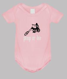 efedefunko © magnaccia o die - bambino corpo, rosa