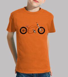 efedefunko © orange chopper - ragazzo, manica corta, arancione