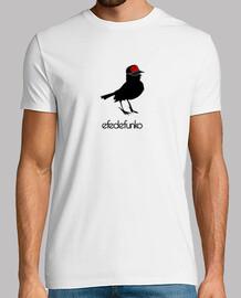 efedefunko © Original Logo - Hombre, manga corta, blanco, calidad extra