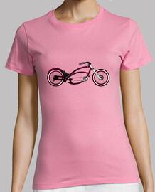 efedefunko © Purple Queen Chopper Bike - Mujer, manga corta, rosa, calidad premium
