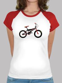 efedefunko © Specialized Hemi Custom - Mujer, estilo béisbol, blanca y roja