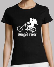 efedefunko © WingedRider (RudeShirts) - Mujer, manga corta, negra, calidad premium