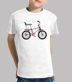 efedefunko bh 1978 © rete bicicross - ragazzo, manica corta, bianco