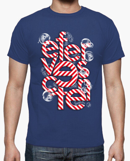 Effervescent with bubbles t-shirt