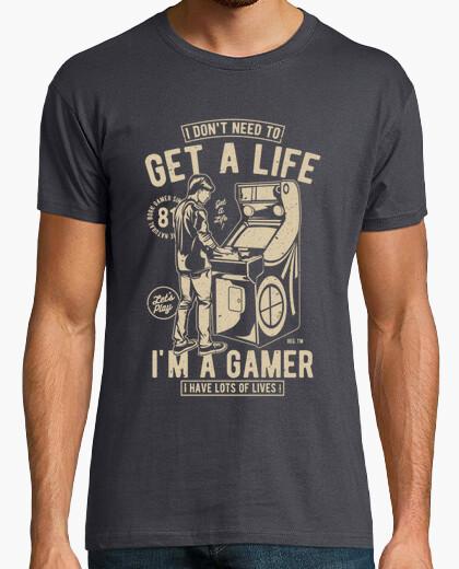 T-Shirt ein Leben bekommen