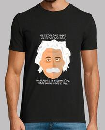 Einstein con retranca