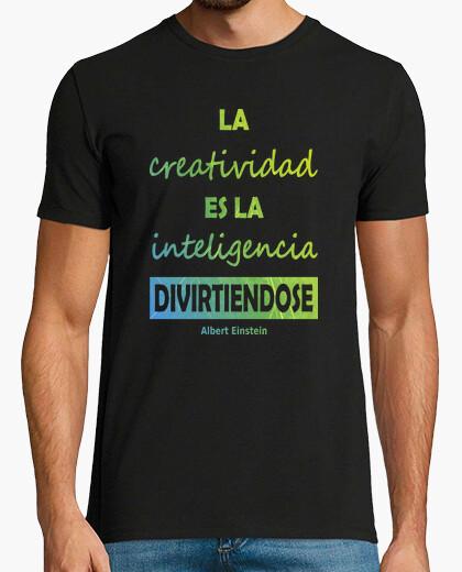 Tee-shirt einstein créativité et intelligence