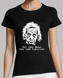 Einstein: eat your brains