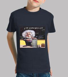 Einstein Homebrewer niño