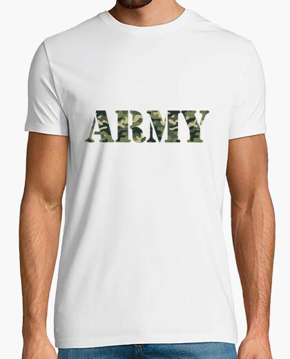 Camiseta ejército de camuflaje