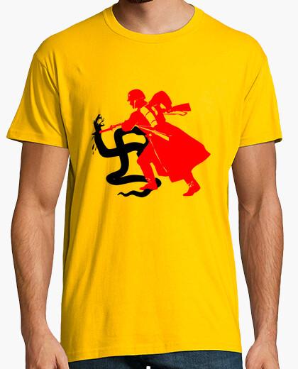 Ejército Camiseta Rojo Rojo Antifascista Antifascista Camiseta Ejército Antifascista Ejército Camiseta Camiseta Rojo K1FcTlJ35u
