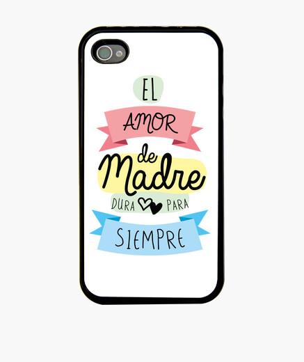 Funda iPhone El amor de madre dura para siempre