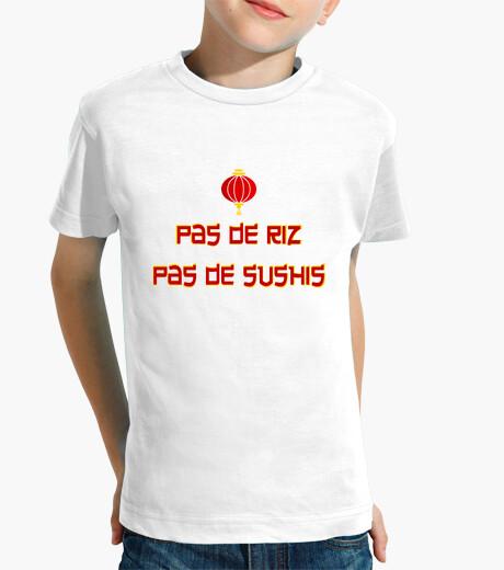 Ropa infantil el arroz no hay sushi