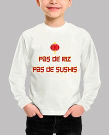 el arroz no hay sushi