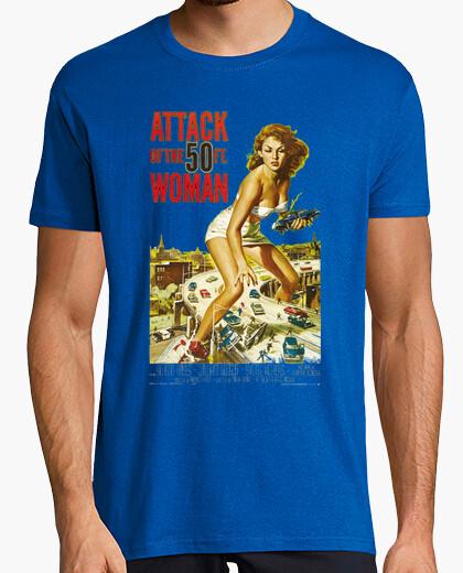 Camiseta El ataque de la mujer de 50 pies