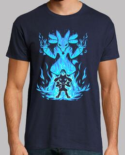 el aura dentro - camisa para hombre