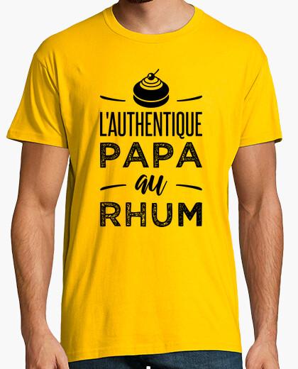 Camiseta el auténtico ron ron