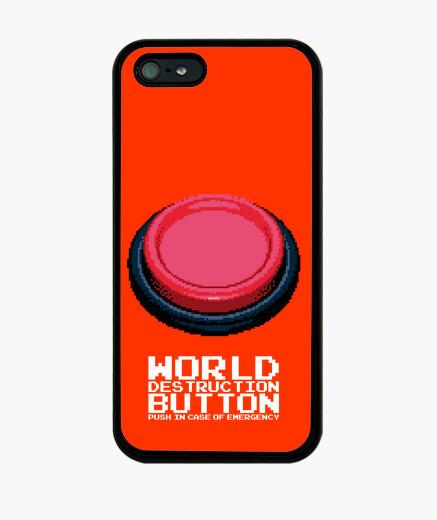 Funda iPhone El Botón Rojo