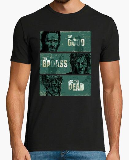 Camiseta el bueno, el tipo duro, y los...