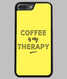 el cafe es mi terapia