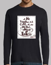 El café no me hace efecto
