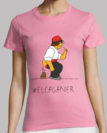 El Caganer - Samarreta de noia, amb pigments ecològics i qualitat prem