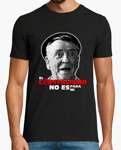 Camiseta El capitalismo no es para mí
