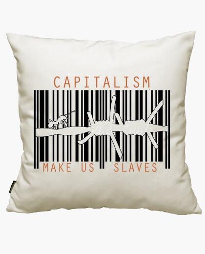 Funda cojín El Capitalismo Nos Hace Esclavos 6