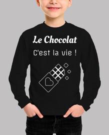 el chocolate es vida - humor