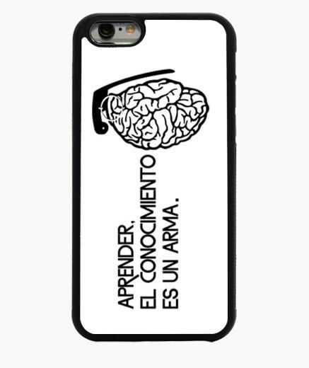 Funda iPhone 6 / 6S El conocimiento es un arma