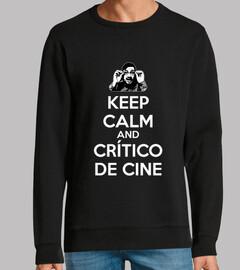 El crítico de cine - Keep calm blanco