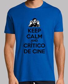 El crítico de cine - Keep calm negro