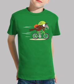 El cuervo ciclista...
