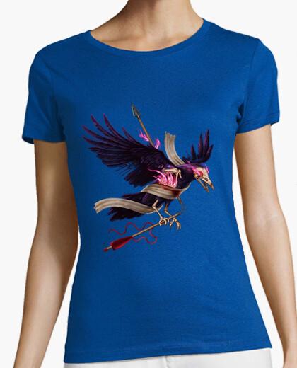 Camiseta El cuervo zombie
