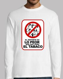 EL DEPORTE ES LO PEOR QUE HAY PARA EL TABACO © Set