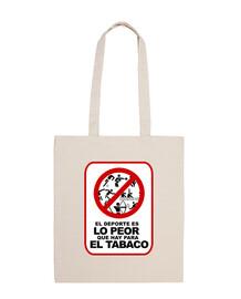EL DEPORTE ES LO PEOR QUE HAY PARA EL TABACO © SetaLoca