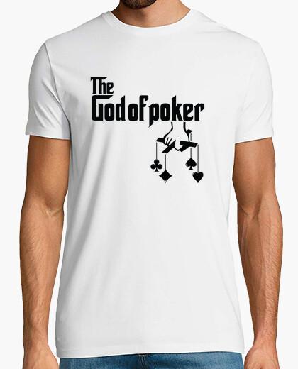 Camiseta el dios del poker