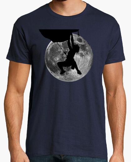 Camiseta El escalador y la Luna