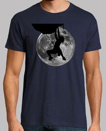 El escalador y la Luna