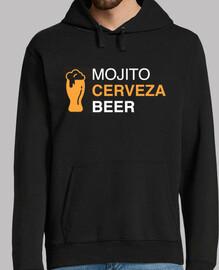 el festival - mojito cerveza beer amigo sweatshirt