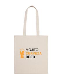 el festival - mojito cerveza beer bag