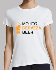 El Festival - Mojito Cerveza Beer noir Femme