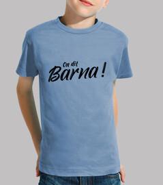 El Festival - On dit Barna! noir Enfant