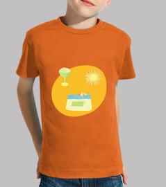 El final del verano: camiseta niño o niña