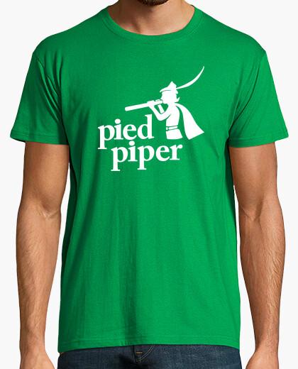 Camiseta El Flautista - Pied Piper (Silicon Valley)